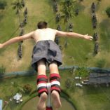 Perfect Jump style at Pattaya Bungy Jump