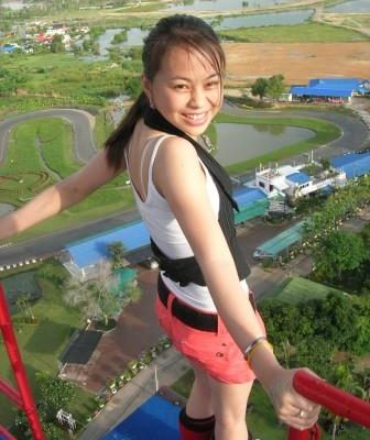 Highest Bungy Jump Thailand at Pattaya Bungy Jump